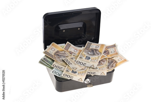Cuadros en Lienzo  Money in cash box