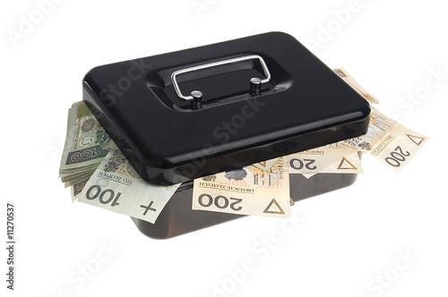 Cuadros en Lienzo Money in cash box