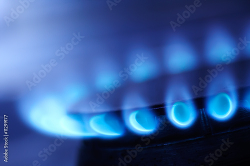 Fotografía  Natural gas flame