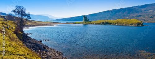 Scottish Castle Ruin Fototapet