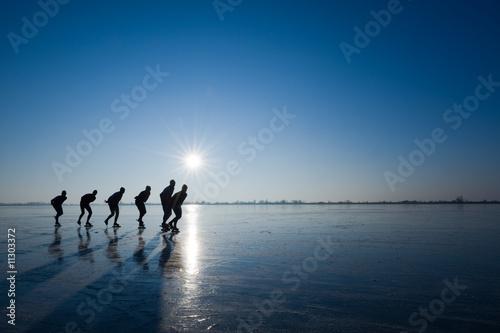 Fotografie, Obraz ice skating