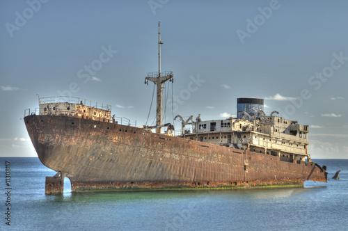 Photo Stands Shipwreck Schiffswrack