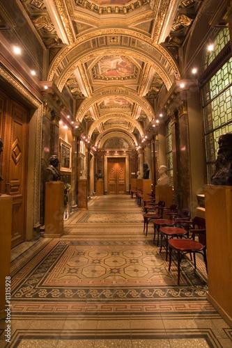 In de dag Temple palace corridor