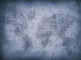 grunge map of the world. - 11334500