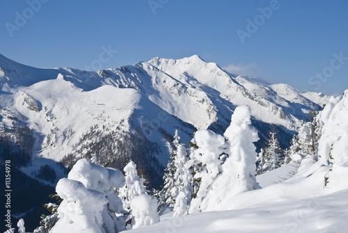 Fotobehang Wintersporten Wintertraum