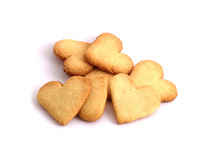 Heart-shaped Biscuits