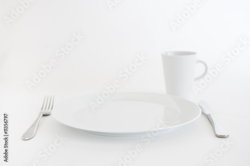 Fotografering  Kitchen utensils on white background