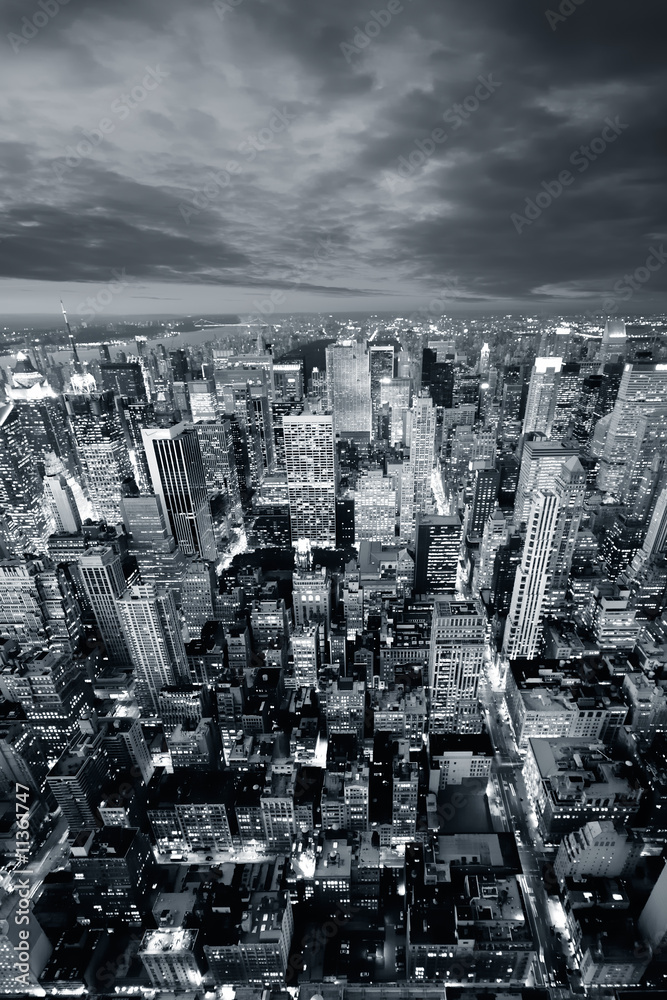 Foto-Lamellen (Lamellen ohne Schiene) - New York