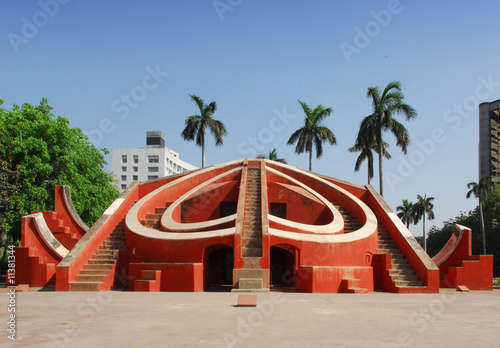 Canvas Prints Delhi Jantar Mantar observatory