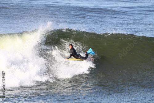 Poster Water Motor sports bodyboard en action