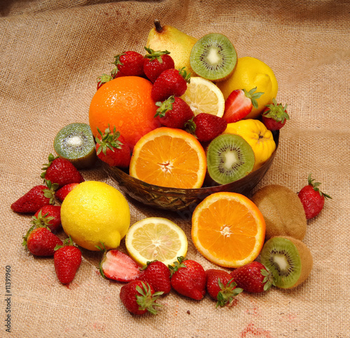 Foto op Aluminium Vruchten fresh fruits