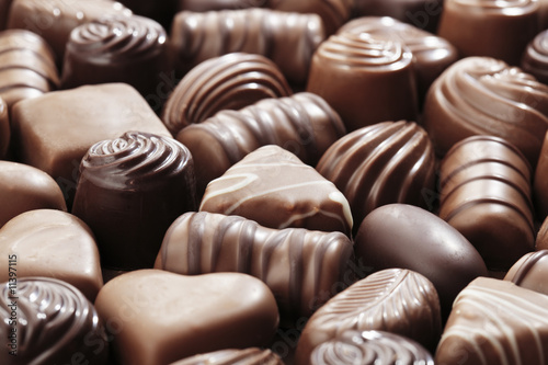 Aluminium Prints Candy Chocolates