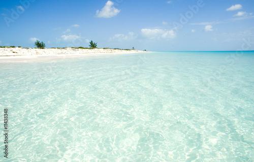 caribbean beach Wallpaper Mural
