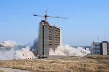 Demolition Of A City Building