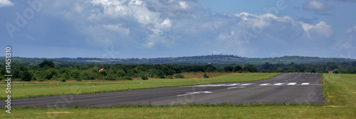 aérodrome Canvas Print