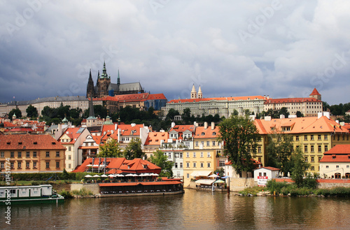 Fototapety, obrazy: the panorama of Prague
