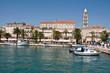 Diocletian Palace in Split, Croatia