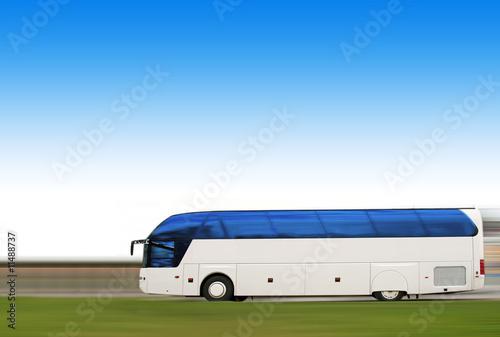 Fototapeta  voyage bus
