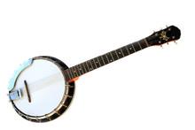 Musical Instrument Banjo Isola...