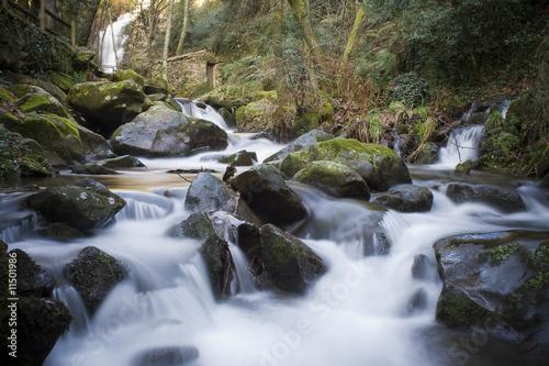 Printed kitchen splashbacks River Flowing Water