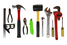 Array Of Tools Isolated