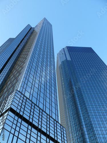 Photo Deutsche Bank in Frankfurt