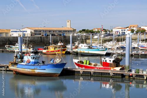 Port De La Cotiniere Sur L Ile D Oleron Buy This Stock Photo And