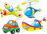 Family of vehicles