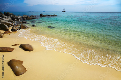 Foto op Aluminium Oceanië Tropical beach