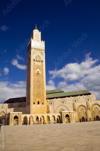 Mosquee in Casa Blanca Marocco