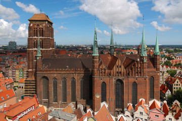Old Cathedral in Gdansk