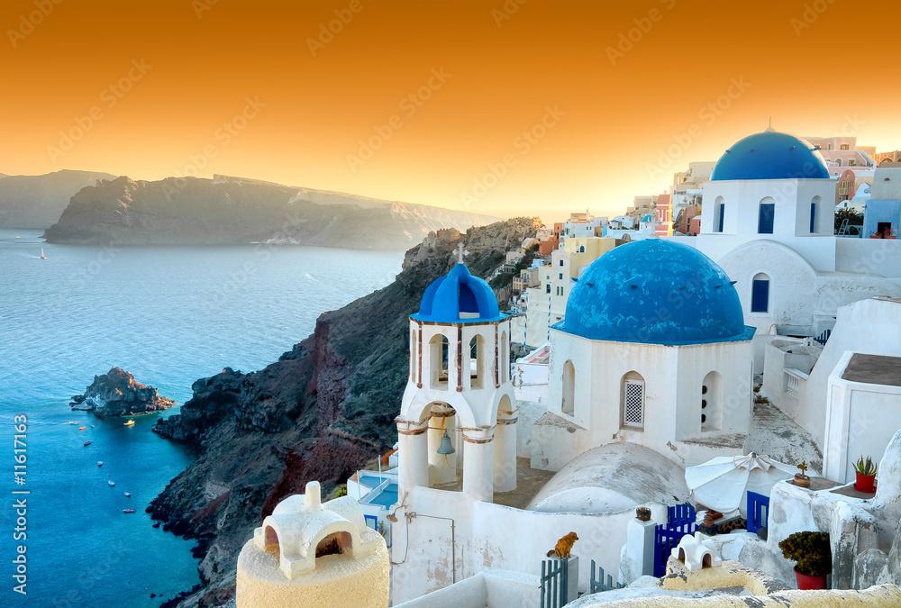 Fototapety, obrazy: Santorini - Oia