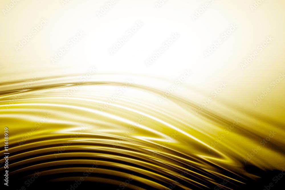 Fototapety, obrazy: ondulacion dorados