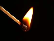 Flame Of Match