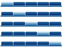 Navigation Website Tabs - Blank