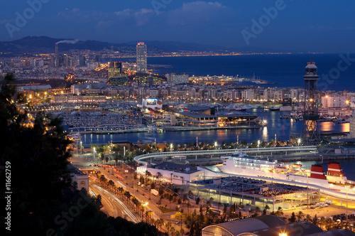 Papiers peints Barcelona Barcelona de noche
