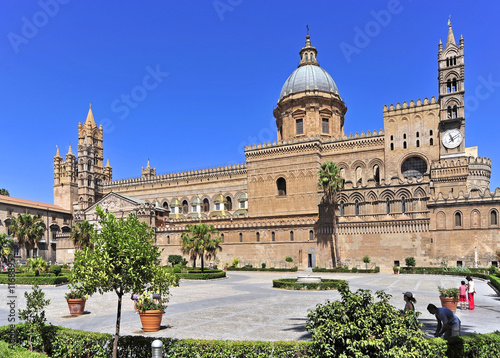 Photo sur Toile Palerme Italien, Sizilien, Palermo, Kathedrale