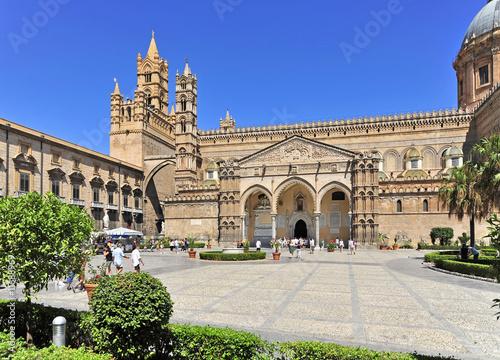 Foto op Aluminium Palermo Italien, Sizilien, Palermo, Kathedrale