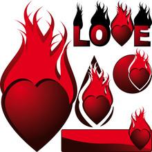 Set Hot Hearts