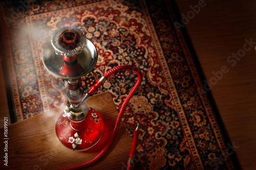 Hookah in smoke #11699921