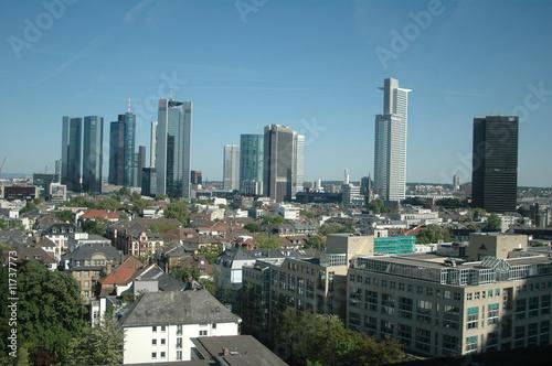 Keuken foto achterwand Kangoeroe Skyline, Frankfurt am Main