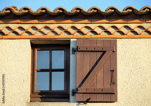 Valokuva  Fenêtre sous génoise