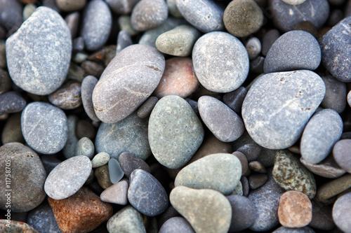 Doppelrollo mit Motiv - Beach pebble (von Alexey Tatarinov)