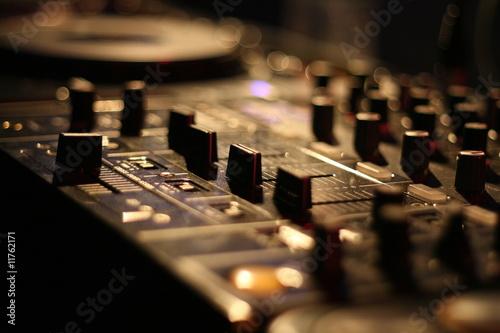 Fotografie, Obraz  mischpult / mixer / dj