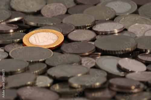 Fotografia  Euro in Farbe