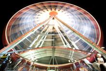 Trails Of A Ferris Wheel