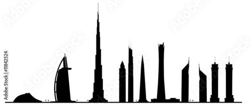 Fotografía  Dubai Skyline