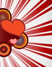Retro Valentine Red