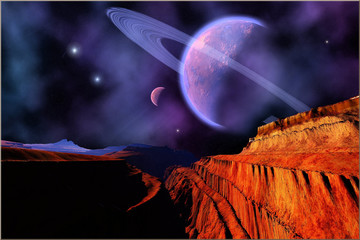 Fototapeta Kosmos DARKLIGHT NEBULA