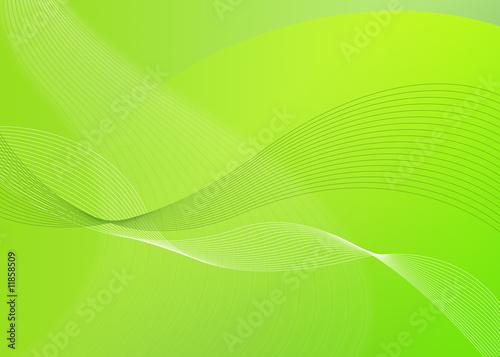 Papiers peints Vert chaux Fond vert